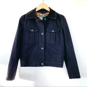 Ralph Lauren black denim jacket